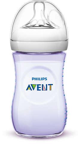 Philips Avent Naturnah Flasche 260ml 1er Pack violett