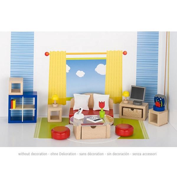 GoKi Puppenmöbel - Wohnzimmer II Puppenhausmöbel