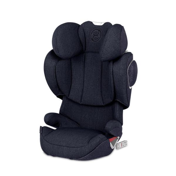 Cybex Solution Z-FIX Plus Kindersitz - Midnight Blue