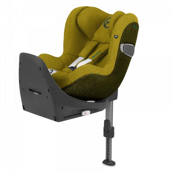 Cybex Sirona Z i-Size Kindersitz - Mustard Yellow Plus