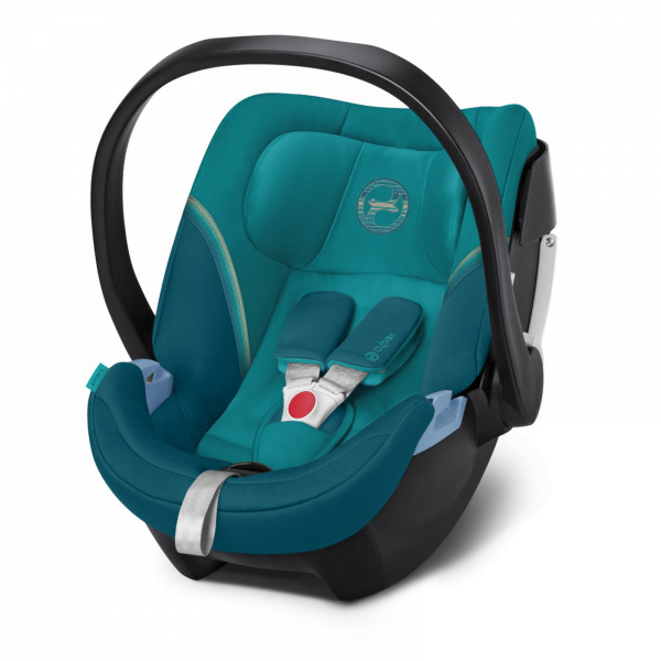 Cybex Aton 5 Babyschale - River Blue