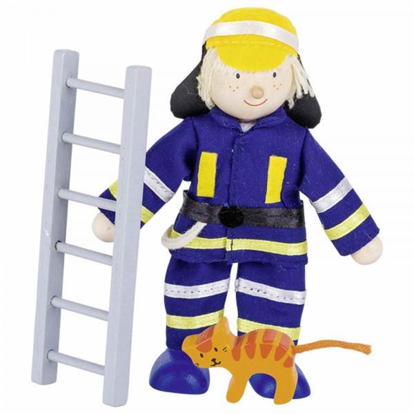 GoKi Biegepuppe Feuerwehrmann I