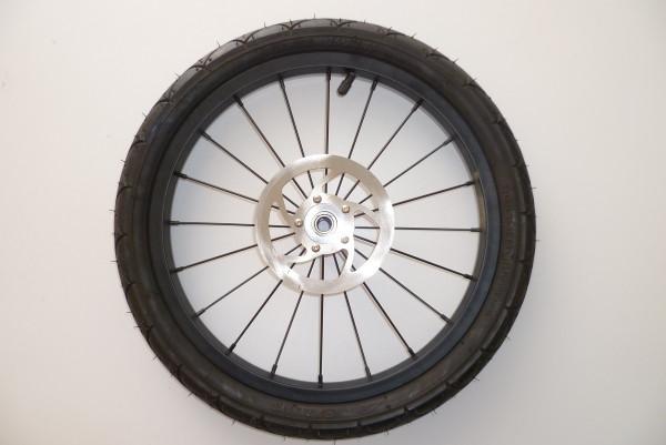 """TFK 16"""" Hinterrad für Joggster 3 Facelift - Stahlfelge schwarz"""